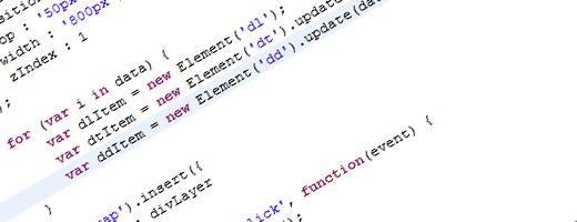 Assoziative Arrays mit Javascript