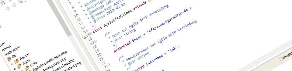 FTP Webservice Agila Versicherung